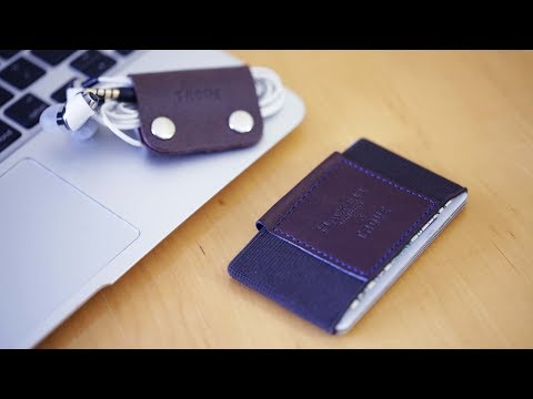 Trove Slim Wallet & Cable Clips