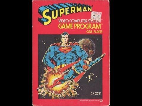 Atari Superman Video Walkthrough