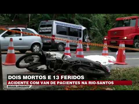 Acidente deixa mortos na Rio-Santos