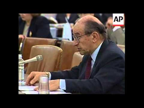 USA: ALAN GREENSPAN CONGRESS SPEECH