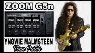 Download Video ZOOM G5n YNGWIE MALMSTEEN TONE PATCH MP3 3GP MP4