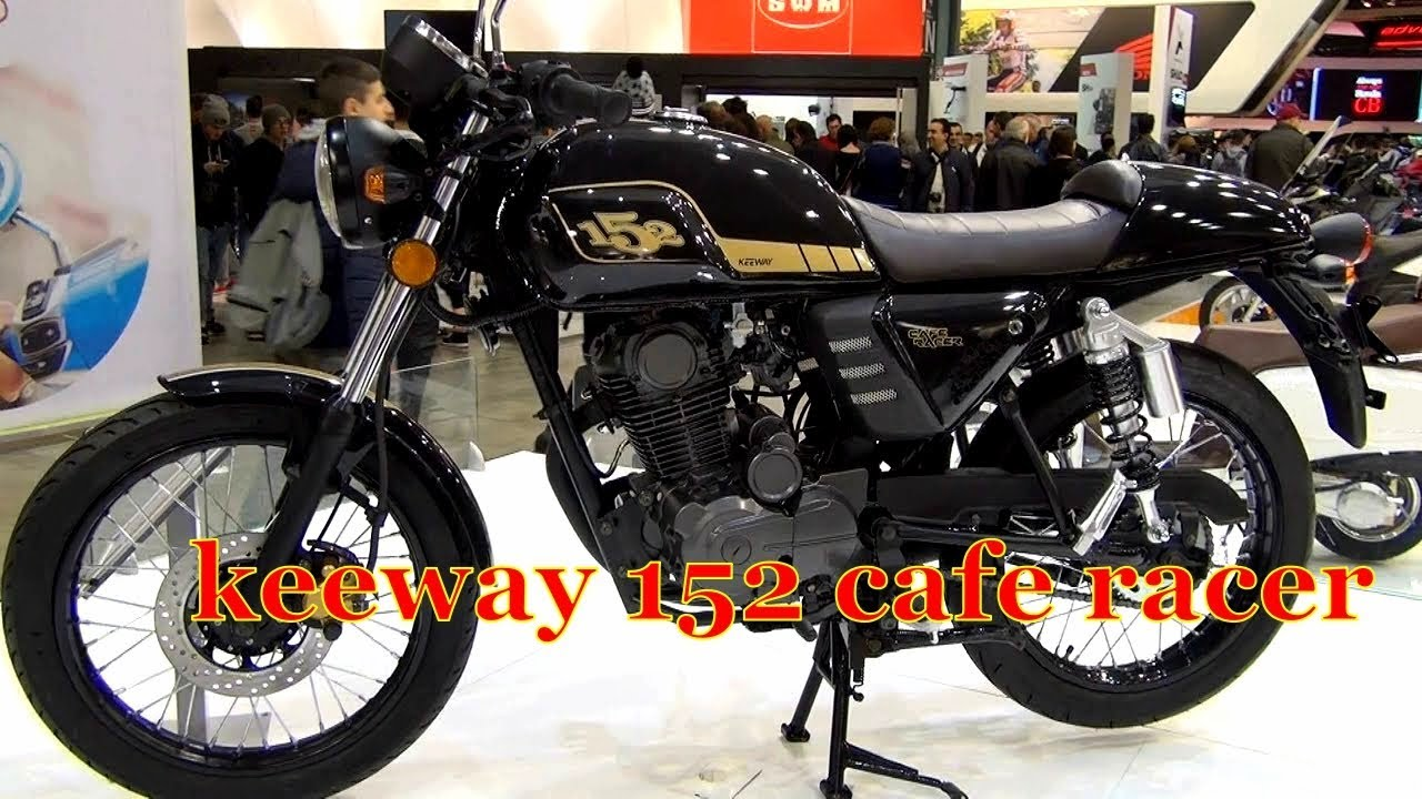 All New Keeway 152 Cafe Racer Bike In