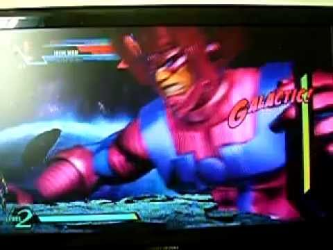 Don Markus MAS as Galactus in UMVC3 (Xbox version)