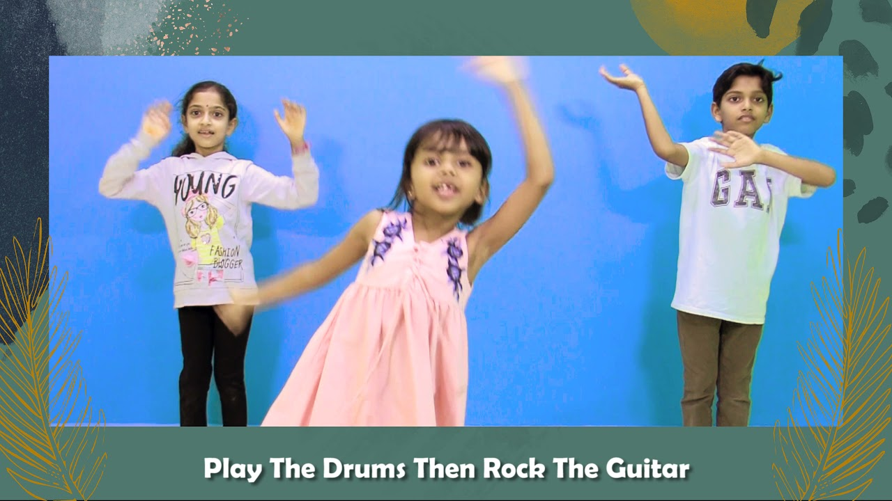 Kids Action Song   Hossana Rock   Kingdom Kidz