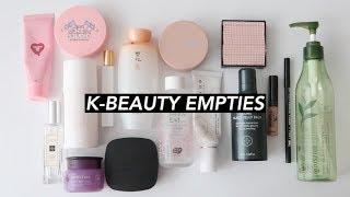 Empties #26   Korean Skincare, Cushion Foundations, & More!