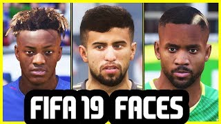 40 NEW FACES ADDED TO FIFA 19 That You Haven't Seen Before