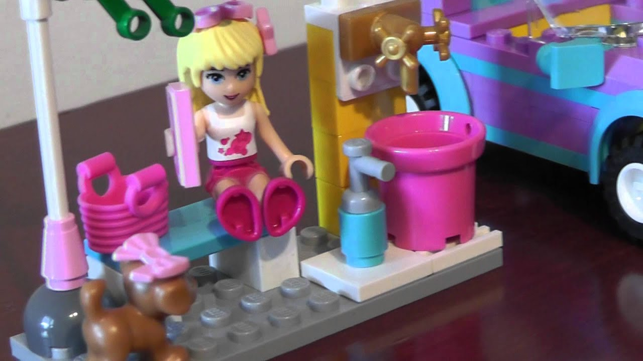 Lego Friends 3183 Kabriolet Stephanie Youtube