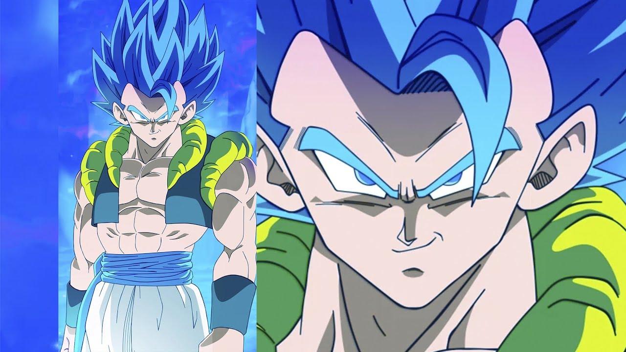 Gogeta Ssj Blue V1 Animated Wallpaper New Movie