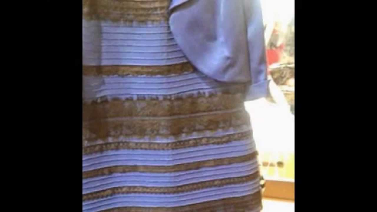 White and gold and blue and black dress - What Color Is This Dress White Gold Or Blue Black Celebrities Reactions