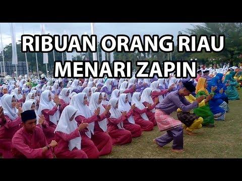 Wow! 1000-an Orang Riau Nari Zapin secara Serentak (26 Nov 2017)