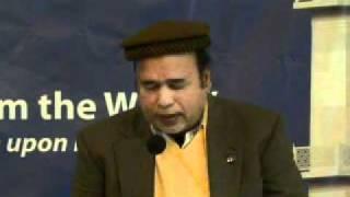 Recitation of Holy Quran & Poem, Sunday Morning, West Coast Jalsa Salana USA 2011