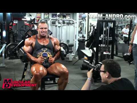 Ronny Rockel New York Shooting  Muscular Development Magazin May 2011