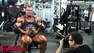 Ronny Rockel New York Shooting  Muscular Development Magazin May 2011