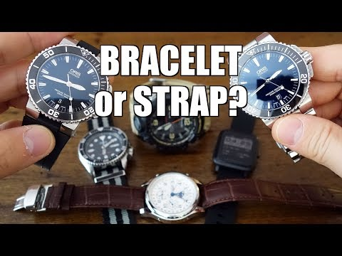 The Final Word! Metal Bracelet vs Rubber, Leather, Nylon, Resin & Silicone Straps - Perth WAtch #179