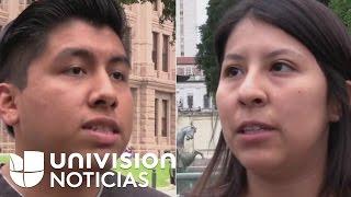 Texas analiza propuesta que impediría a estudiantes con DACA participar en prácticas profesionales