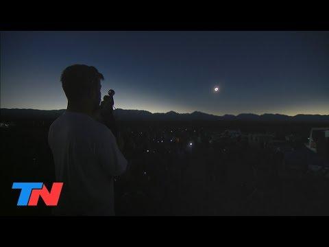 #EclipseDeSolEnTN: Así fue