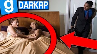 ELLE ME TROMPE AVEC MON GARDE DU CORPS ! - GMOD DarkRP FR