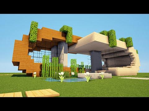 Minecraft tuto tour moderne 4 4 doovi for Tuto maison moderne minecraft