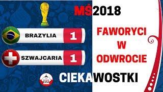 Brazylia - Szwajcaria 2018 1:1 Ciekawostki