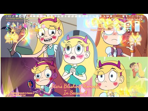 Star's Blushing Moments In Season 4 | Star Vs Forces Of Evil