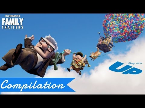 UP | All Clips and Trailer Compilation for Disney Pixar Family Animated Movie