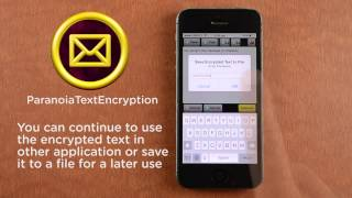 Paranoia Text Encryption (iPhone)