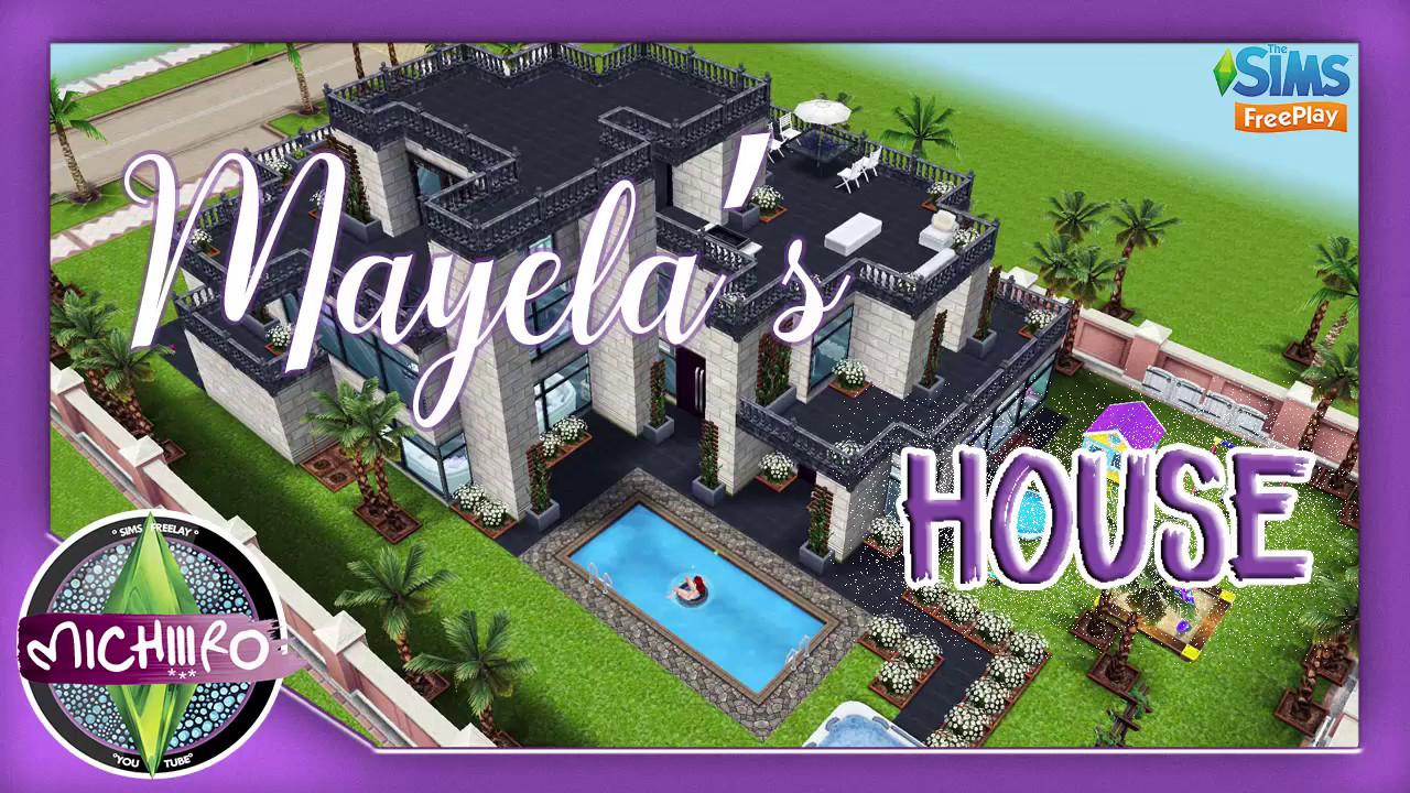 Sims freeplay casa de mayela tour dise o for Casa de diseno sims freeplay