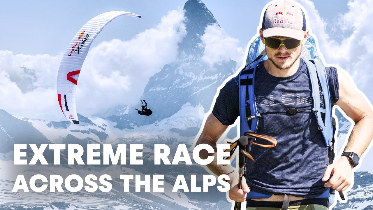 The World's Toughest Adventure Race Across The Alps | Red Bull X-Alps