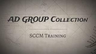 Doğrudan bağlı olarak REKLAM Güvenlik Grubu Oluşturma ve Sorgu Kuralları Koleksiyonu - SCCM Toplama SCCM