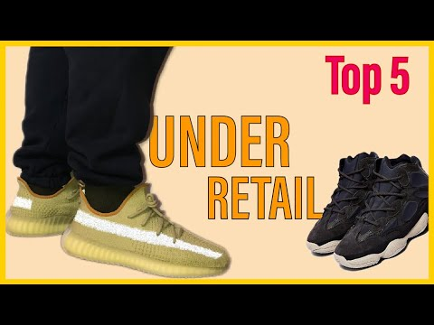 5 YEEZYS FOR UNDER RETAIL ON GOAT APP
