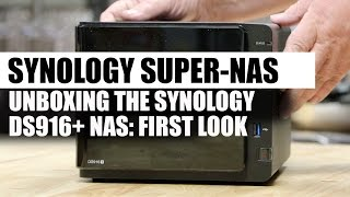 hybrid cloud in a box: Unboxing the Synology DS916 super-NAS