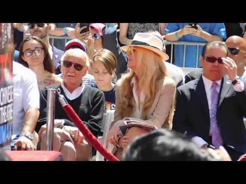 Stan Lee imprint ceremony @ TCL Chinese theatre