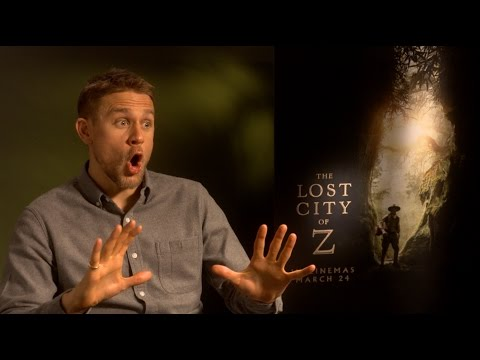 "Tom Holland shows off to Charlie Hunnam - ""The Lost City of Z"" interview EXCLUSIVE"