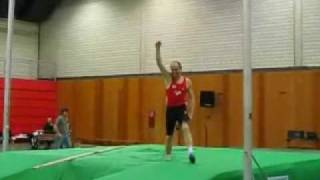 Wolfgang Ritte new world record pole vault