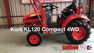 Kioti KL120 Loader