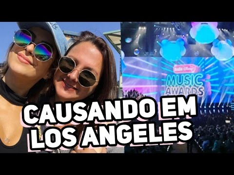 Causando em L.A. com a Cris + Radio Disney Music Awards