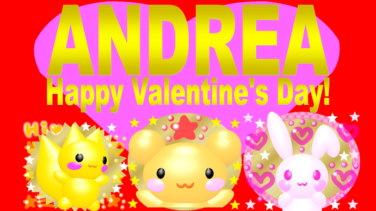 Movie Andrea Happy Valentine S Day Ep01 Who S Your Valentine Youtube