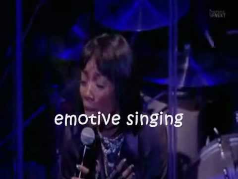 Brandy's best live vocals
