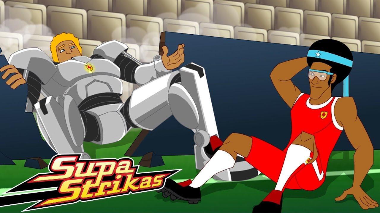 Download Supa Strikas   Cool Joe Loses His Groove Pt 2   Full Episode Compilation   Soccer Cartoons for Kids!