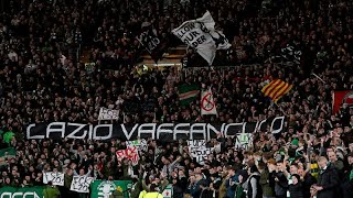 Lazio fans filmed making nazi salutes ...
