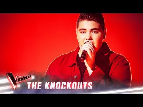 The Knockouts: Jordan Anthony sings 'Scared To Be Lonely' | The Voice Australia 2019