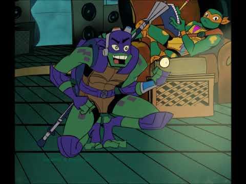 ROTTMNT fan animation Donatello vine