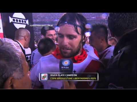 Cierre soñado: Cavenaghi anunció que jugó su último partido en River