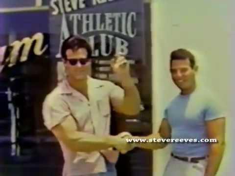 Steve Reeves rare video