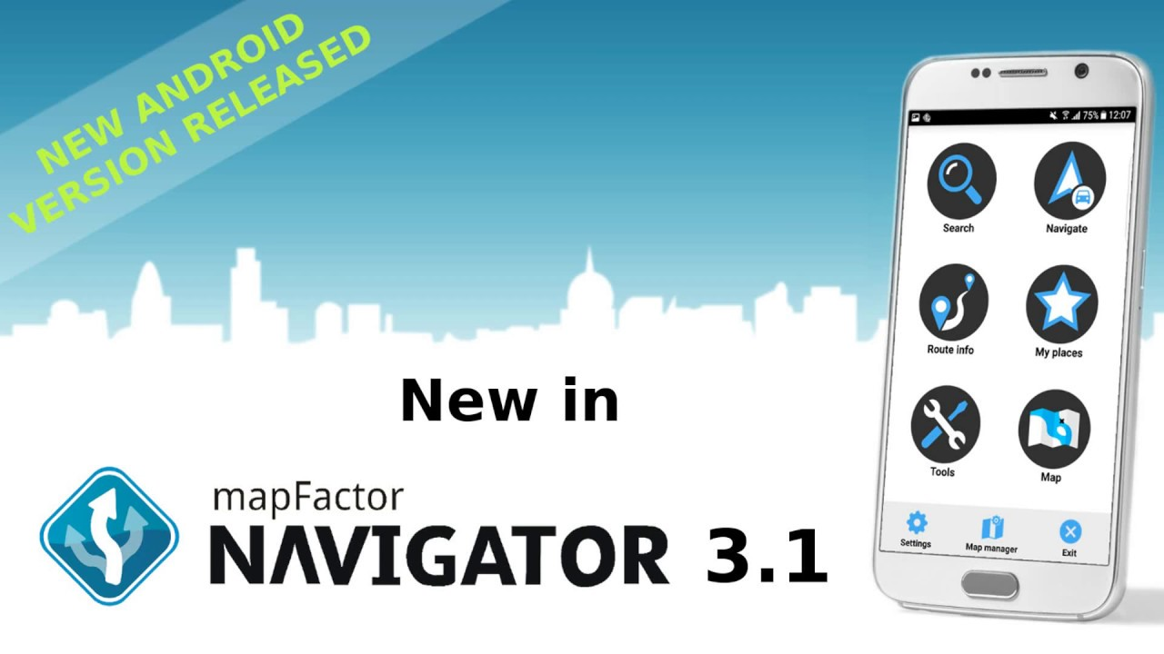 What is New in MapFactor GPS Navigation 3 1 [Android]