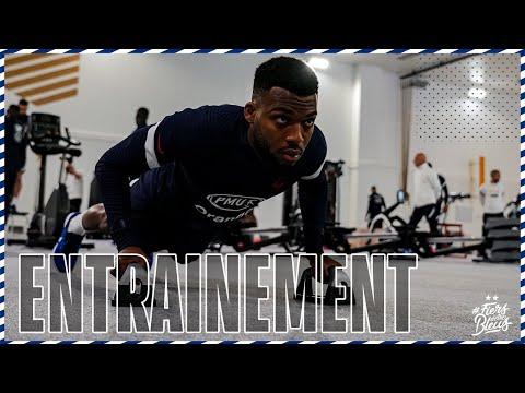 Musculation et explosivité en salle, Equipe de France I FFF 2021
