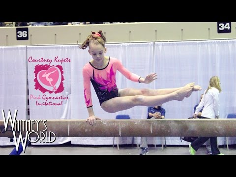 Whitney Bjerken | 5th Level 9 Gymnastics Meet | Courtney Kupets Pink Invitational