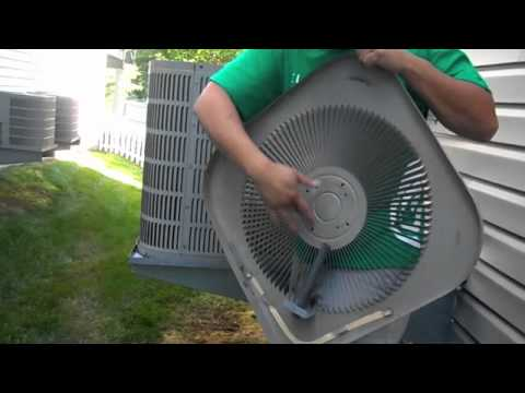 Do It Yourself Replacing Bad Air Conditioning Condenser Fan Motor