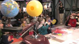 Chabot Space & Science Center's Tyke Explorers Classes for preschoolers