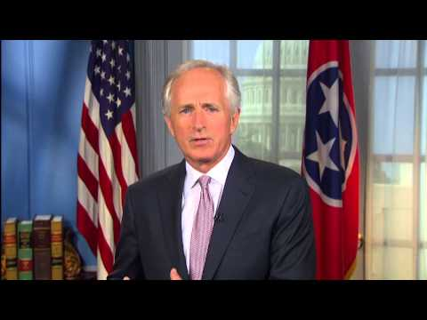 8/8/15 - Sen. Bob Corker Delivers Weekly GOP Address On Pres. Obama